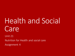health and social care unit 268