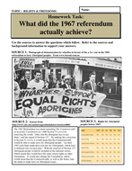 What did the 1967 referendum actually achieve?