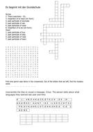 Stimmt GCSE Red School puzzle - Es beginnt mit der Grundschule