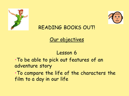Adventure stories project-10 lessons with resources SEN English Media Literacy