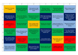Learning Grid of Activities to use in Library lessons Years 5-8 KS2 ...