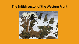 The-British-sector-of-the-Western-FrontCSw.pptx