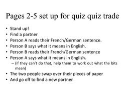 Ich wohne quiz quiz trade