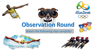 Olympics Observation Quiz - Form Time Fun