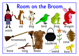 Room on the Broom story resource pack- Halloween by robbyn ...