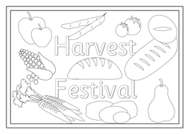 Harvest Festival- activities, display materials, Assembly