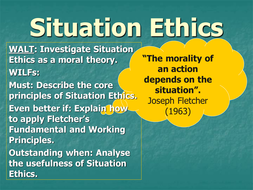 An introduction to Situation Ethics