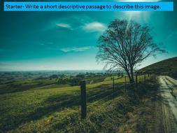 Nature descriptive essay