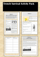First World War Trench Survival Activity Pack