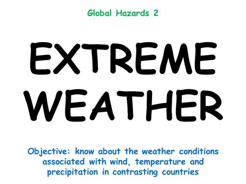 "Hazards 2: ""EXTREME WEATHER"""