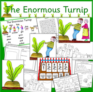 The Enormous Turnip story resource pack- Autumn harvest