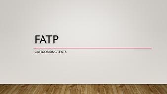 FATP and Frameworks