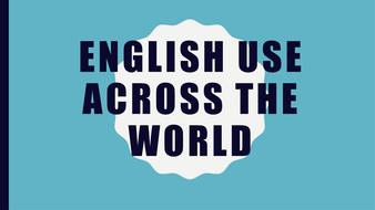 English Use Across the World