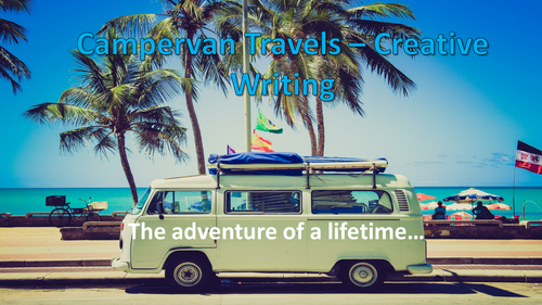 The Campervan Travels - Travel Writing Complete Lesson