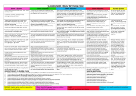 A Christmas Carol GCSE differentiated revision sheets on themes and context by ...