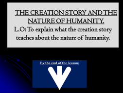 Creation - How humans are made in the image of God