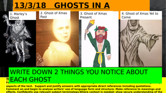 A Christmas Carol Ghosts.Exploring The 4 Ghosts In A Christmas Carol