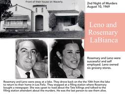 Charles Manson Family & Murder of Tate LaBianca et al - 102 Slides