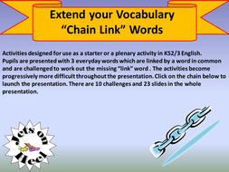 which are linked words