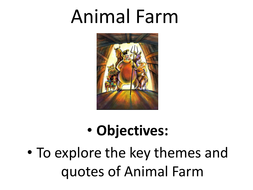 Themes in Animal Farm: 8 Revision Resources