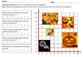 preview-images-halloween-locating-coordinates-in-the-First-Quadrant-worksheets-5.pdf