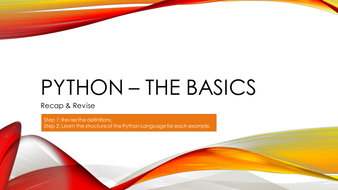 Python Introduction - The Basics (Definition and Example)