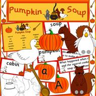 Pumpkin Soup story resource pack- Halloween, Autumn, Halloween story