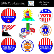 USA Election Clip Art