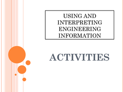 ENGINEERING - Using and Inturpreting Engineering Information