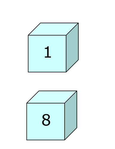 Cubic numbers and Triangular numbers