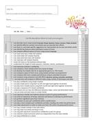 Key Stage 3 Music Progress Tracker (Y7-9)