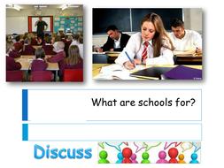 AQA GCSE Sociology and the purpose of schools