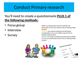 media primary secondary research