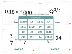Number Bingo Bundle