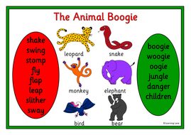 the animal boogie story resource pack jungle animals by robbyn teaching resources tes. Black Bedroom Furniture Sets. Home Design Ideas