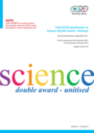 COMPLETE CCEA GCSE DOUBLE AWARD SCIENCE REVISION