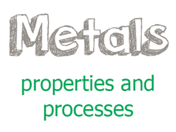 Metals and metalworking