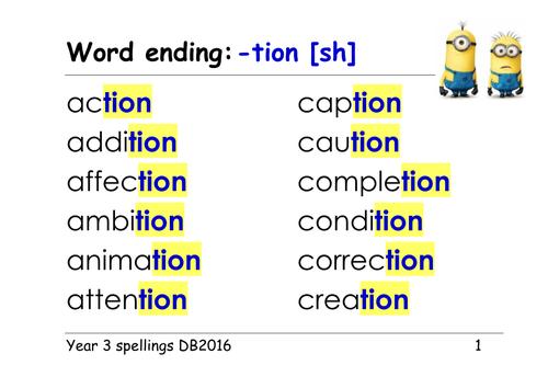 Prefix Lesson 2: Tion, Ment, Ness - Lessons - Tes Teach