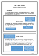 Carol Ann Duffy And Philip Larkin Essay Writing Skills  Carol Ann Duffy And Philip Larkin Essay Writing Skills  Introductions And  Embedding Quotations Informative Synthesis Essay also Essay On Importance Of Good Health  Essay Samples For High School