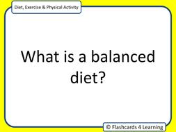 long answer questions p.e gcse diet