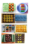 Pictures of arrays in real life - write the number sentence.docx