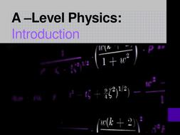 A-level Physics (Edexcel) Unit: Mechanics