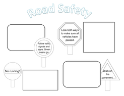 Road Safety Posters (Differentiated) by NadiaWilliams