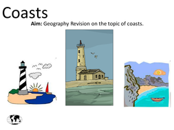 AQA GCSE Geography Coasts Revision PowerPoint