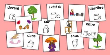 FRENCH ~ Les Prèpositions Bundle