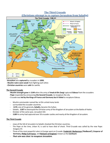 Ks3 the crusades by smcroberts teaching resources tes gumiabroncs Gallery