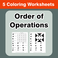 Order of Operations - Coloring Worksheets by bios444 - Teaching ...