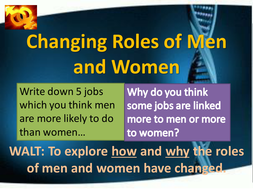 The changing role of women in society