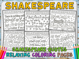 shakespeare coloring pages trfpdf