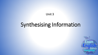 Synthesising-Information.pptx